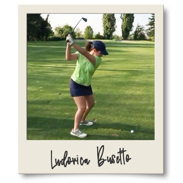Ludovica Busetto golf